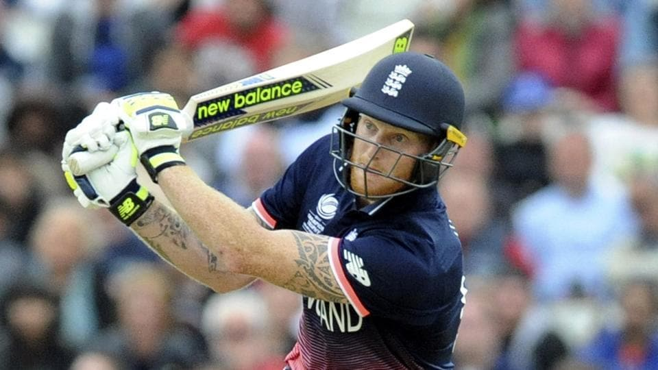 England's Ben Stokes plays a shot during the ICC Champions Trophy 2017 match against Australia at Edgbaston, Birmingham on  Saturday. Catch highlights of England vs Australia here.