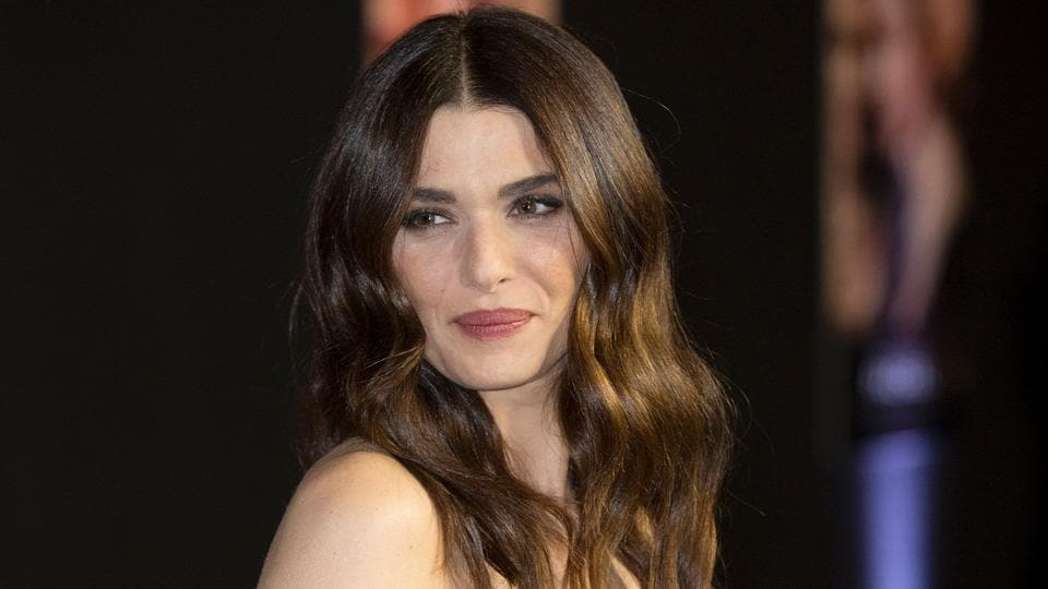 Rachel Weisz poses upon arrival for the world premiere of the film My Cousin Rachel at PictureHouse Central in London.