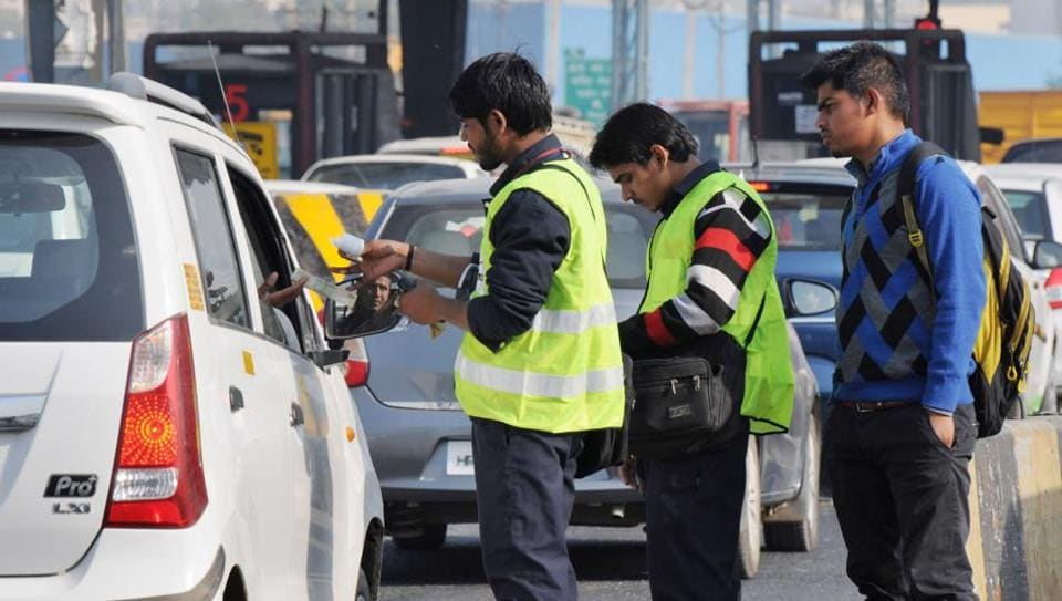 Nearly 1.25 lakh vehicles pass through the Kherki Daula toll plaza every day and, of these, 80,000 vehicles stop and pay the toll. The toll plaza collects an average of Rs 40 lakh to Rs 45 lakh daily, depending on the traffic volume.