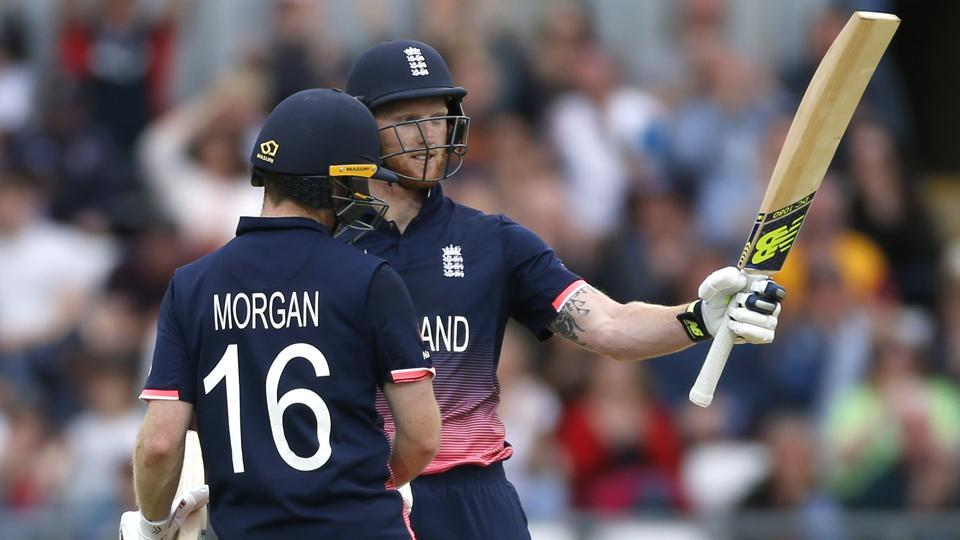 Ben Stokes' 3rd ODI ton and Eoin Morgan's 81-ball 87 helped England knock Australia out of semi-final race of the ICC Champions Trophy. Catch full cricket score of England vs Australia here