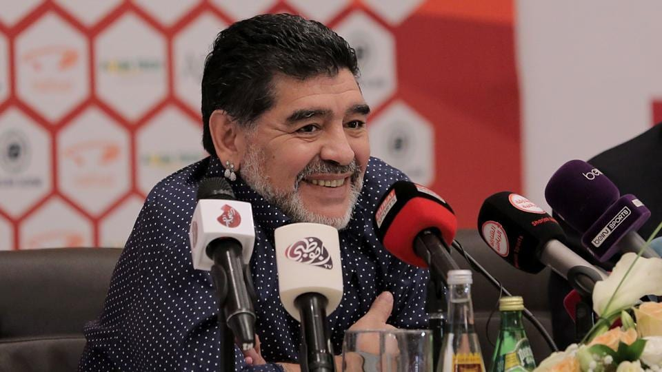 Diego Maradona,Sourav Ganguly,Diego vs Dada