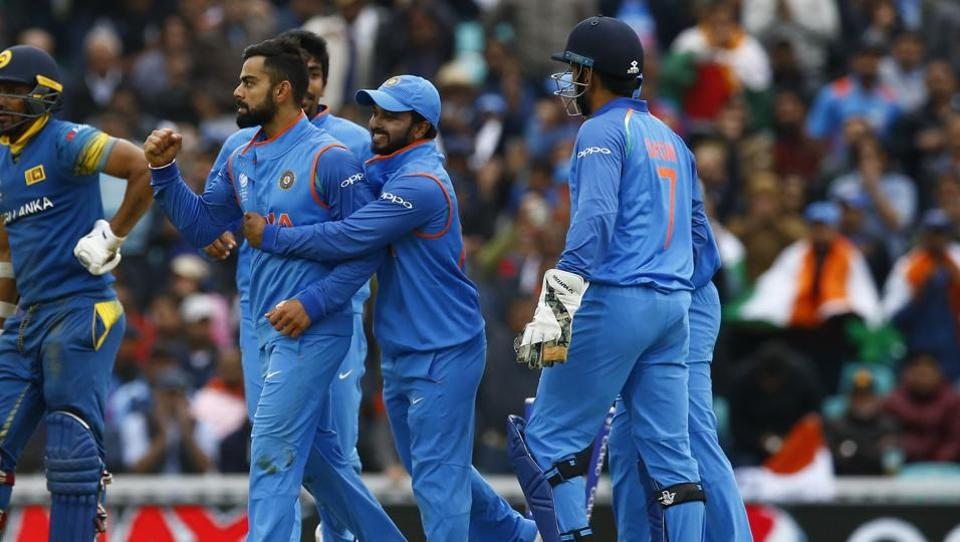 Virat Kohli-led India will take South Africa on Sunday for a place in the ICCChampions Trophy 2017 semi-finals.