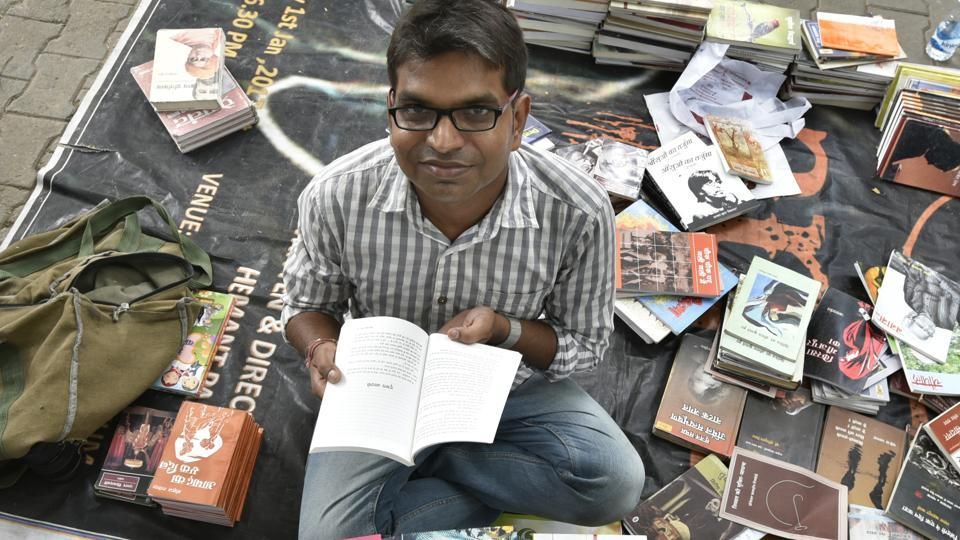 Shailesh Bharatwasi, an engineer by education, says the idea behind his publishing house, Hind Yugm, was to find new, young Hindi writers who wish to experiment with themes, plots and language