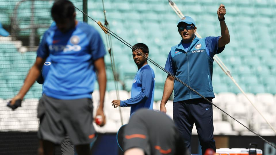 Kumble would want his bowlers to give a better account of themselves against South Africa. (REUTERS)