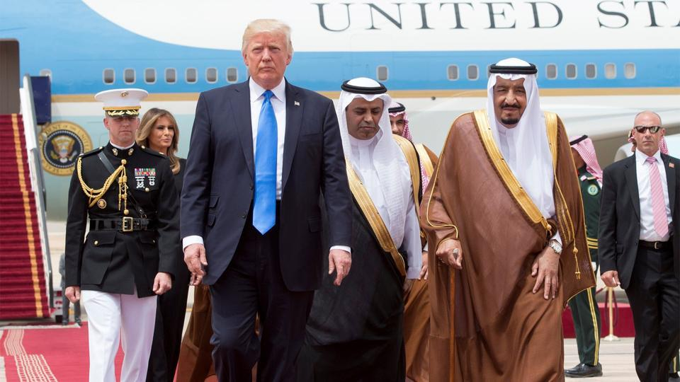 Trump's comments came as Washington joins intensifying international efforts to heal the worsening rift between the key Western Gulf allies, which has escalated into the region's worst diplomatic crisis in years.