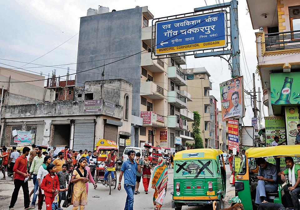 A sizeable chunk of Gurgaon's migrant population live in Chakkarpur and Sikandarpur villages.