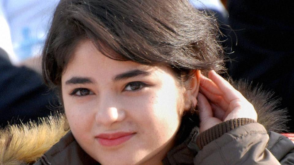 Zaira Wasim is in Srinagar.