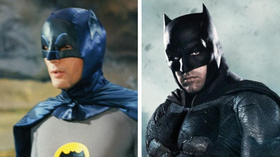 Adam West played Batman 50 years before Ben Affleck.