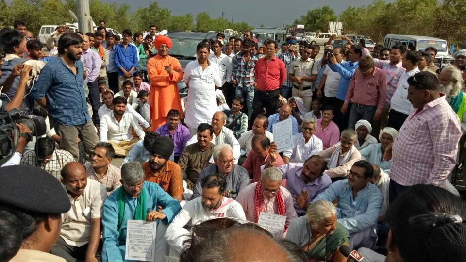 Mandsaur Farmers' Protest,Yogendra Yadav,Medha Patkar