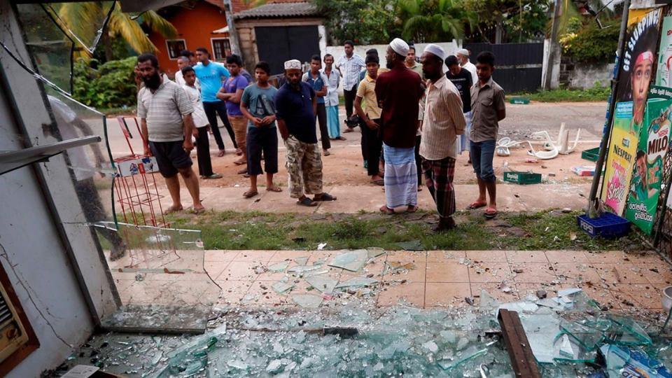 The 32-year-old man from the radical Bodu Bala Sena (BBS), or Buddhist Force, is the first suspect to be arrested in connection with arson attacks against Muslims that have stoked religious tensions.