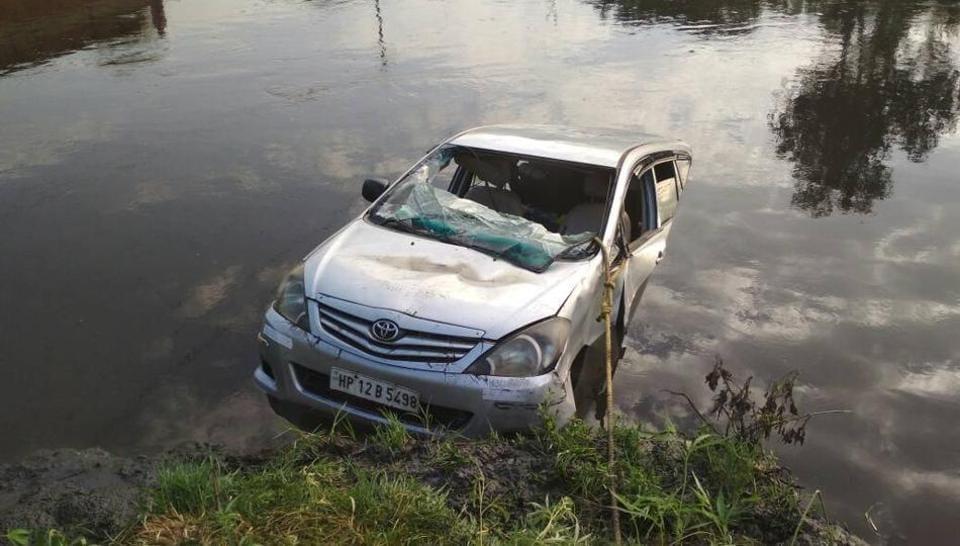 Accident,Mathura,Car Accident