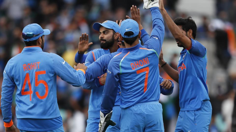 India will take on South Africa in the second last ICC Champions Trophy 2017 group fixture on Saturday at The Oval in London. Catch full cricket score of India vs South Africa here.