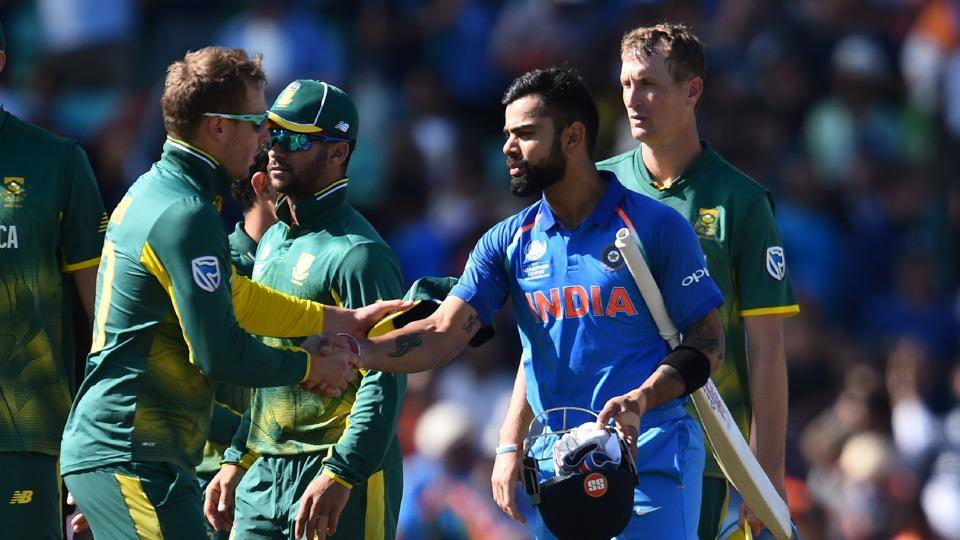 Virat Kohli-led India beat South Africa to enter ICC Champions Trophy 2017 semi-final.