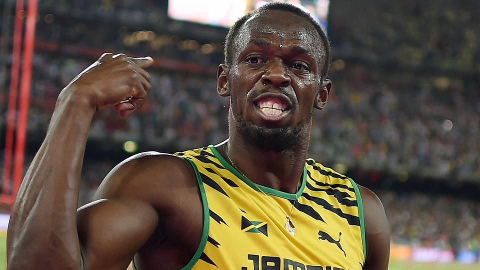 Jamaica's Usain Bolt won his final race on home soil in Kingston on Saturday.