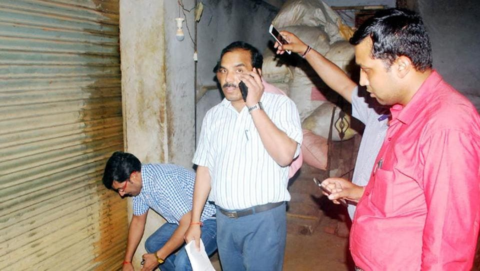 Officials said the raid was conducted at two spice grinding units on specific information that they use adulterants.