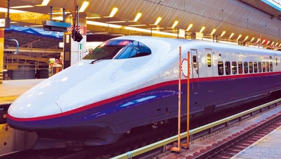 Mumbai Ahmedabad Bullet Train To Have Separate Toilets For