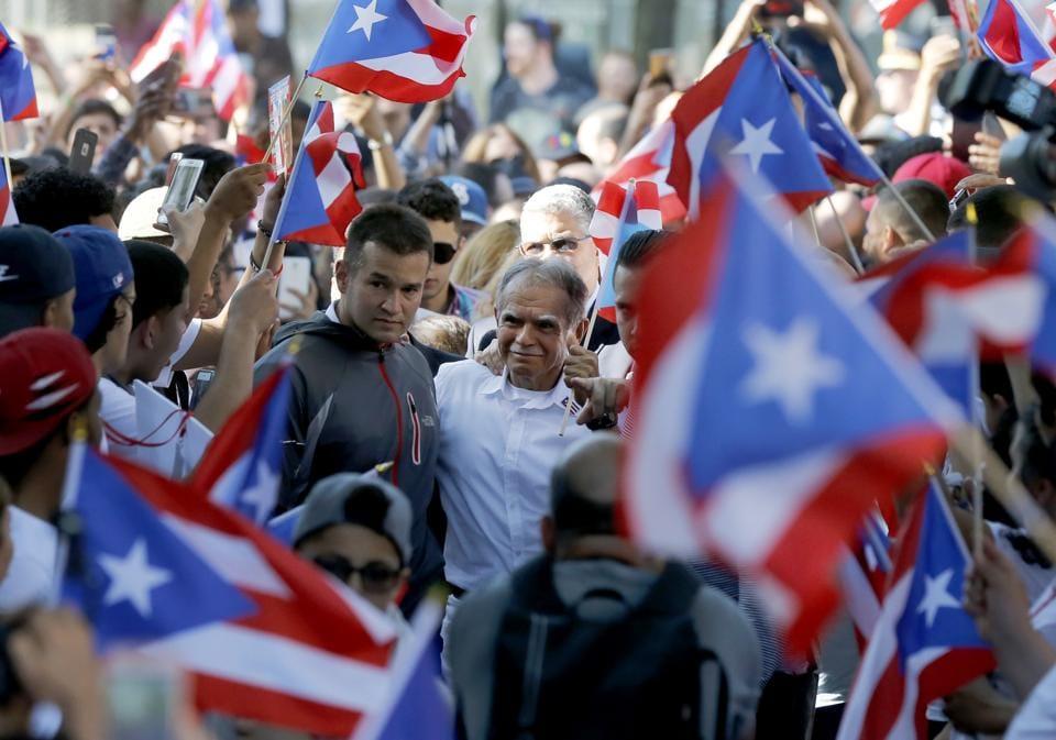 Puerto Ricans,US territory,governor Ricardo Rossello