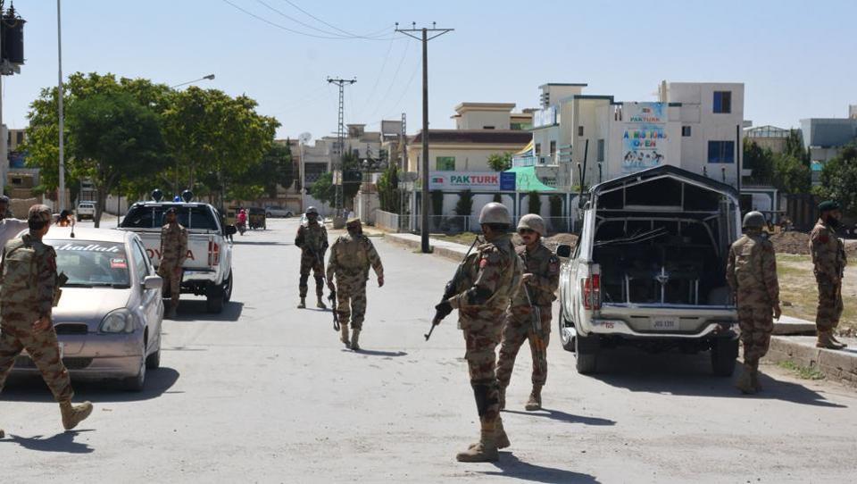 Islamic State,Balochistan,Policemen killed