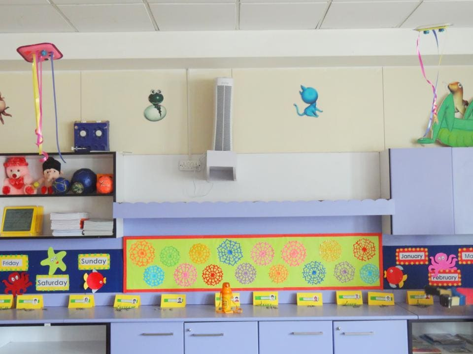 The air purifier installed at Suncity School.