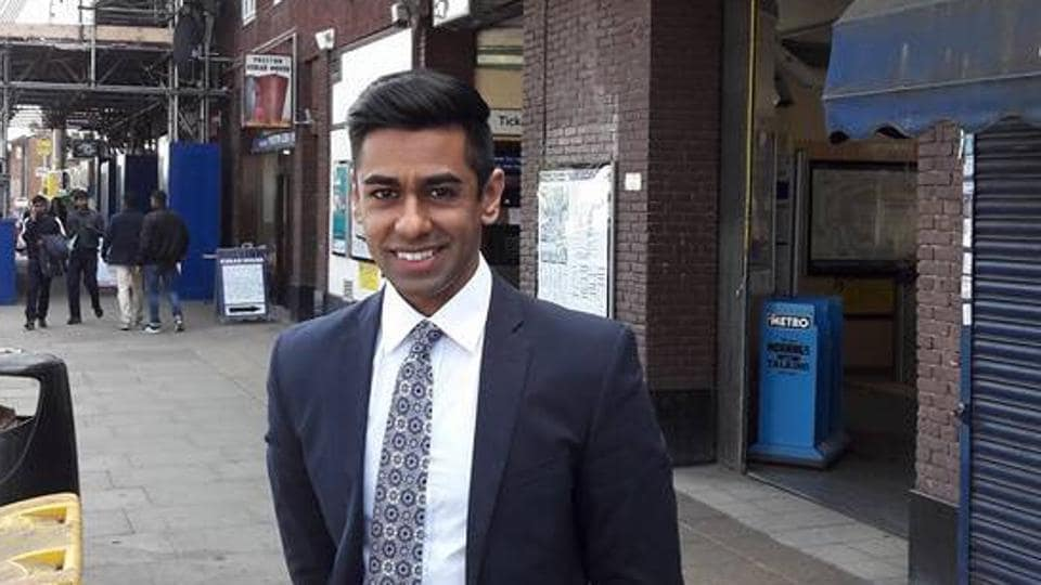 Ameet Jogia, Indian-origin Tory candidate.