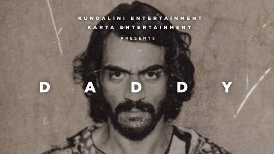Arjun Rampal on the poster for Daddy.