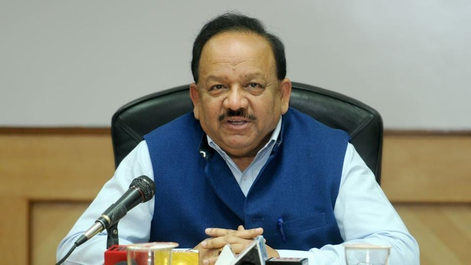 Harsh Vardhan spoke to reporters on the sidelines of a conference in Beijing.