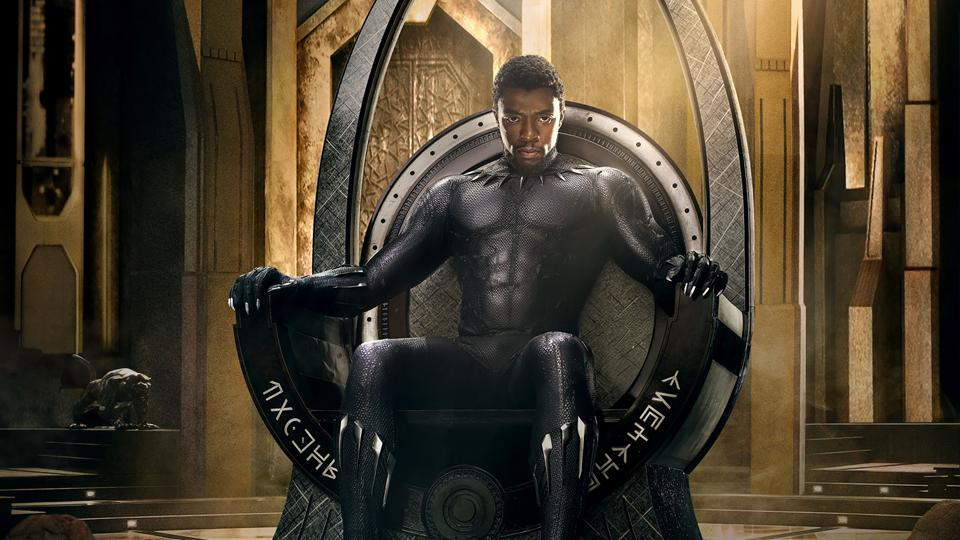 The poster for Black Panther.