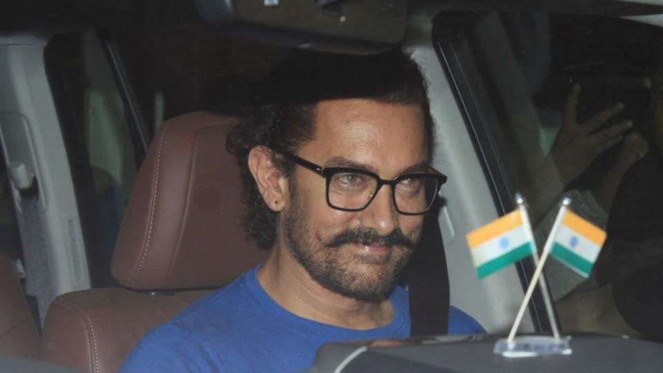 Aamir Khan is working on his next, Thugs of Hindostan.
