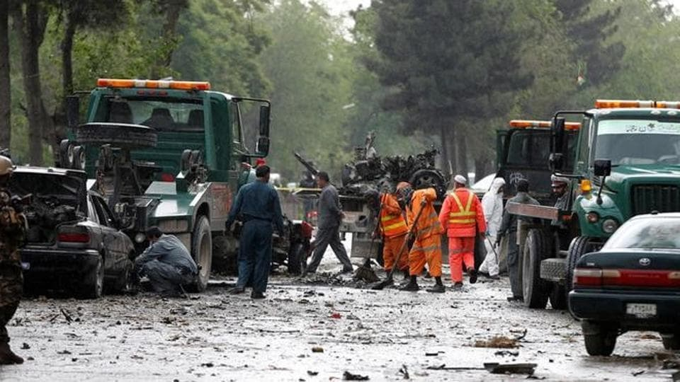 Taliban spokesman,Haqqani network,Kabul bombing
