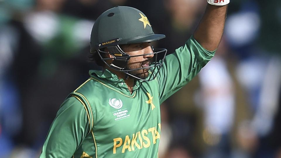Pakistan's Sarfraz Ahmed in action against Sri Lanka during the ICC Champions Trophy. Catch highlights of Pakistan vs Sri Lanka here