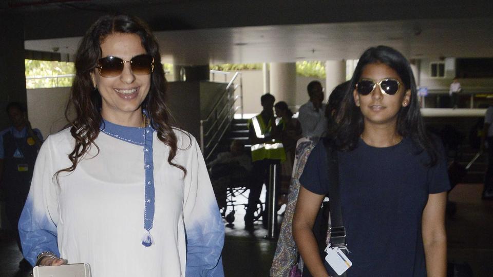 Juhi Chawla,Jhanvi Chawla,Bollywood