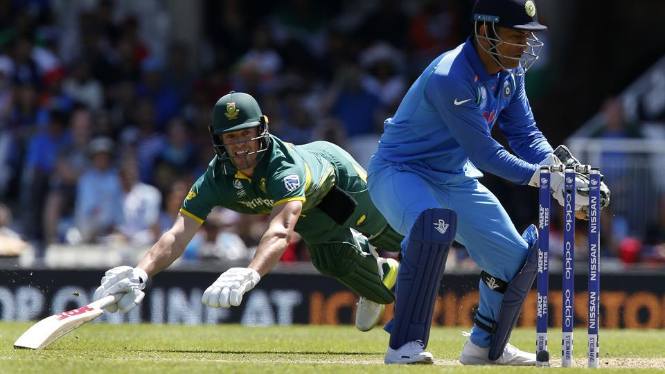 AB de Villiers could not score big during South Africa's must-win match against India in the ICC Champions Trophy 2017 on Sunday.