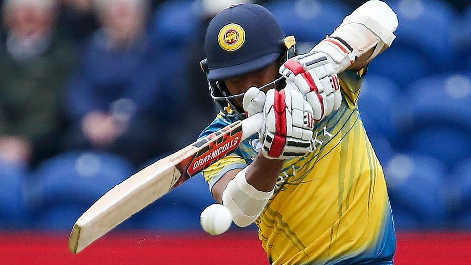 Sri Lanka's Kusal Mendis plays a shot. (AFP)
