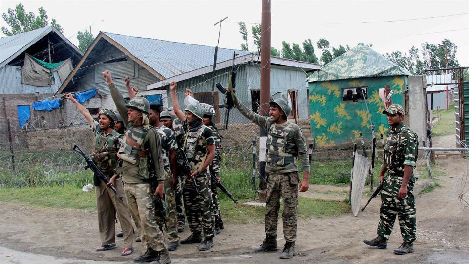 CRPF,Grenade attack,Srinagar attack