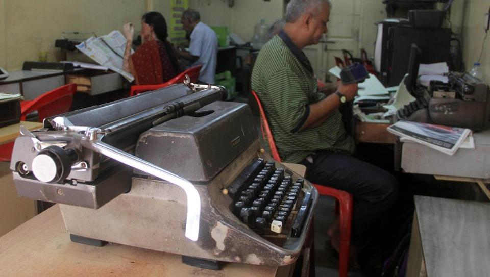The statement comes as the state government prepares to axe the manual typewriting exam from next year onwards, in favour of going digital.