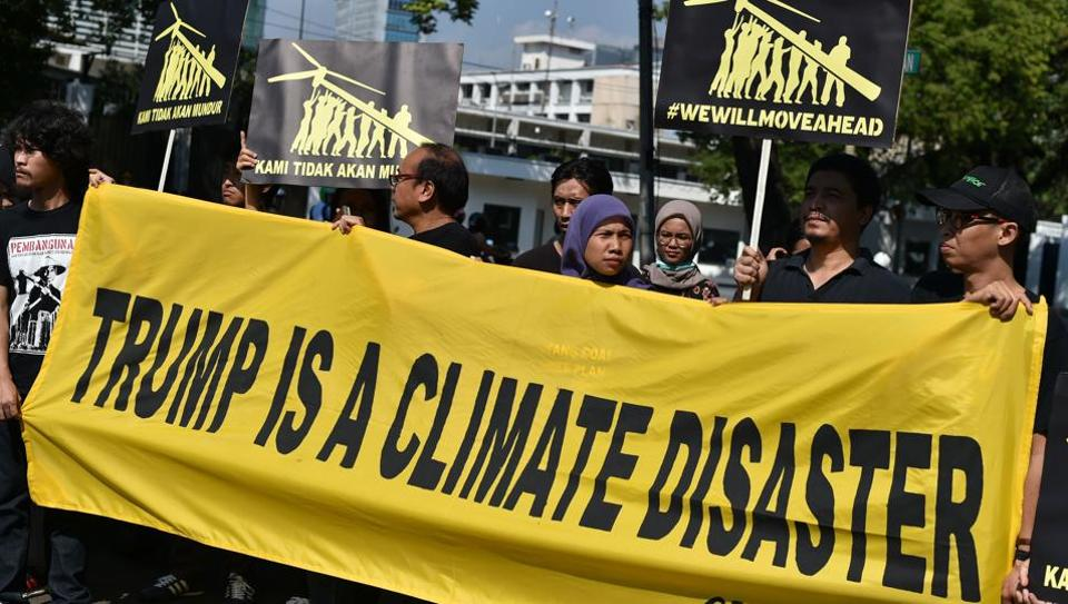 US,Donald Trump,Paris climate deal
