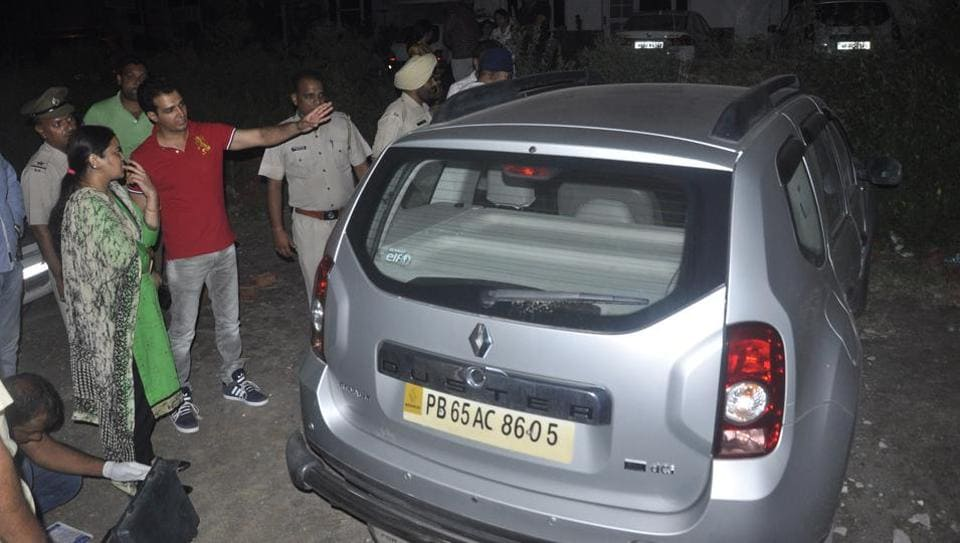 In Tuesday's incident, a youth drove off in an Infosys engineer's Renault Duster from Panchkula's Sector 20 market.