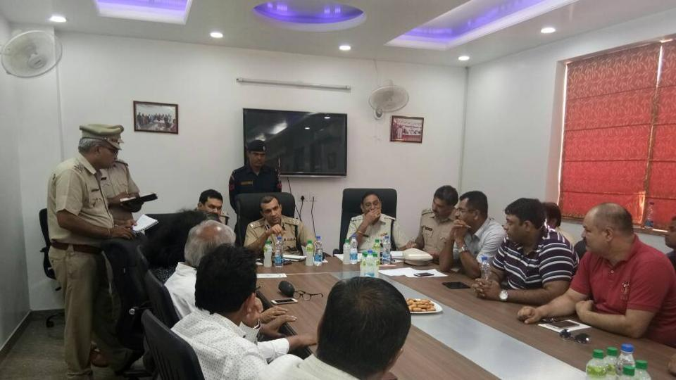 A meeting to discuss the measures was held at the IMT Association office in Sector 8.