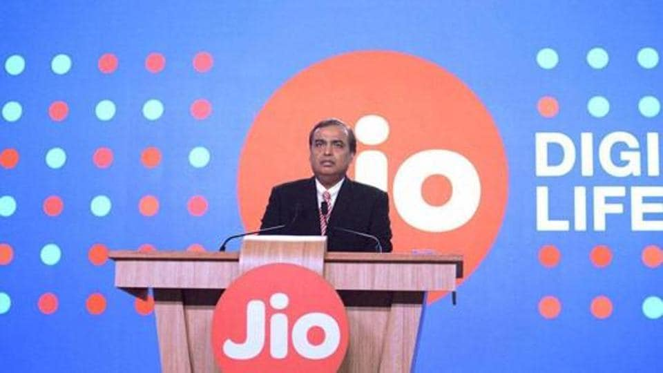 Reliance Industries Limited chairman Mukesh Ambani speaks during a press briefing of Reliance Jio in Mumbai.