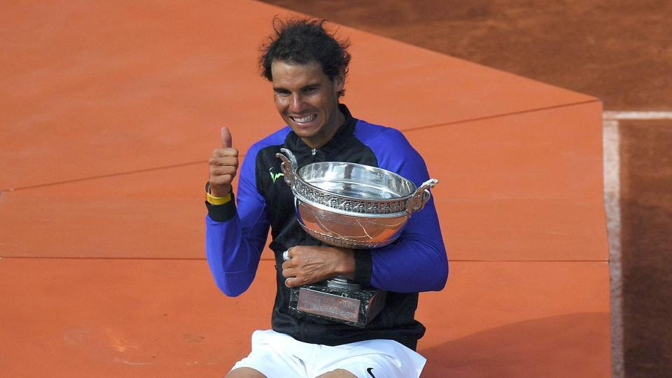Rafael Nadal became the first men's player in tennis history to win a Grand Slam 10 times as he defeated Stan Wawrinka to win the French Open for the 10th time.