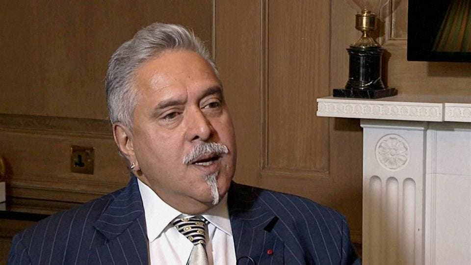 UB Group chairman Vijay Mallya during an interview with the Financial Times in London.