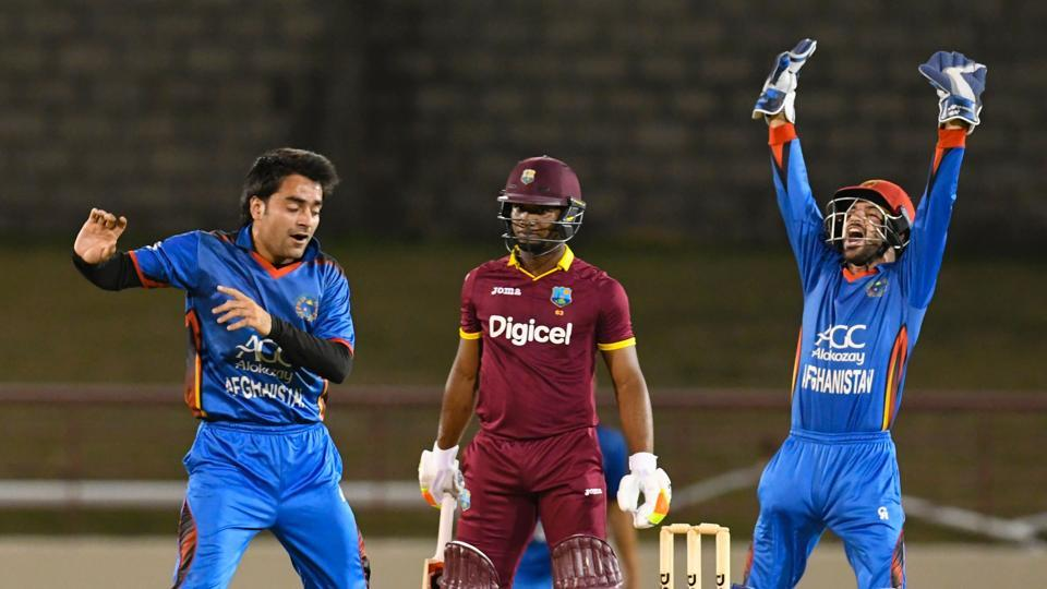 Rashid Khan followed up his 7/18 in the previous ODIwith 3/26 but it was not enough as West Indies defeated Afghanistan in the second ODIto level the series 1-1.