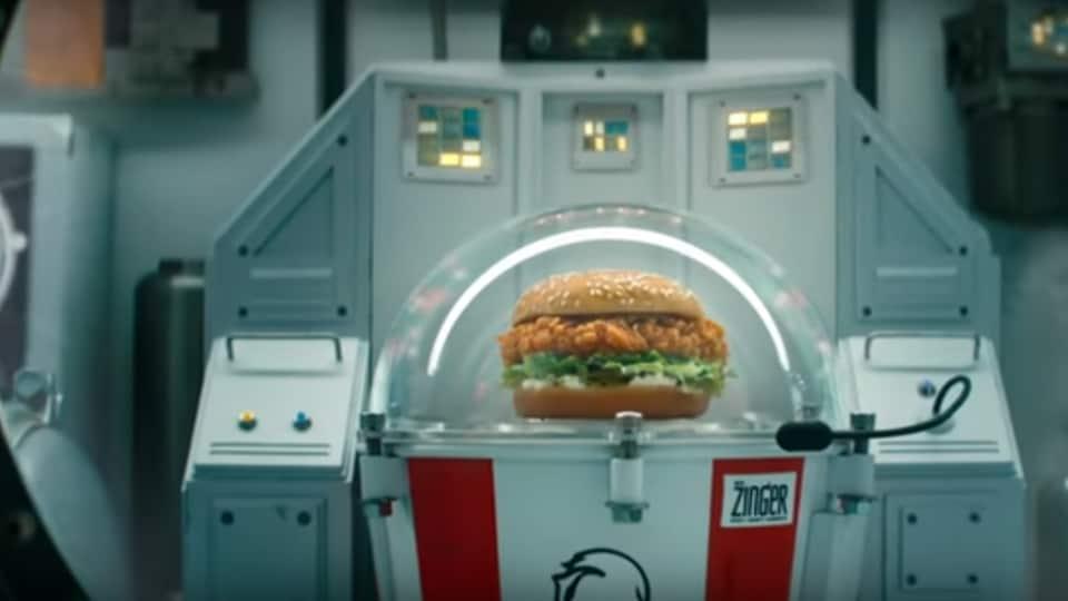 KFC,Chicken sandwich