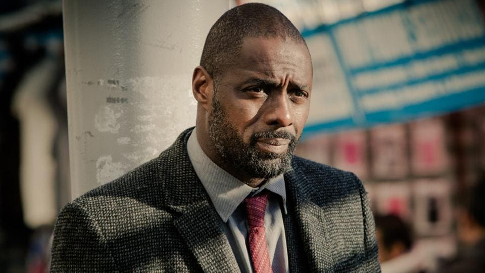 Idris Elba in and as Luther.