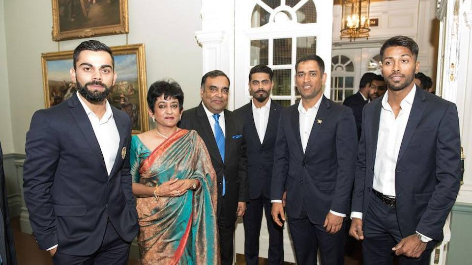 A number of former cricketers were also present at the event. (Facebook/indian cricket team)