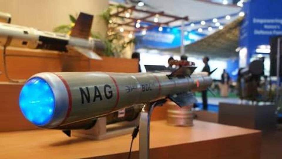「Nag anti-tank missile」的圖片搜尋結果