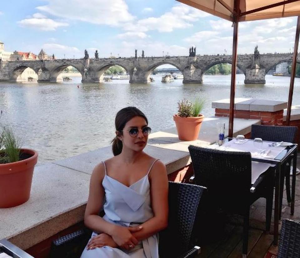 Priyanka Chopra,Prague,Photo