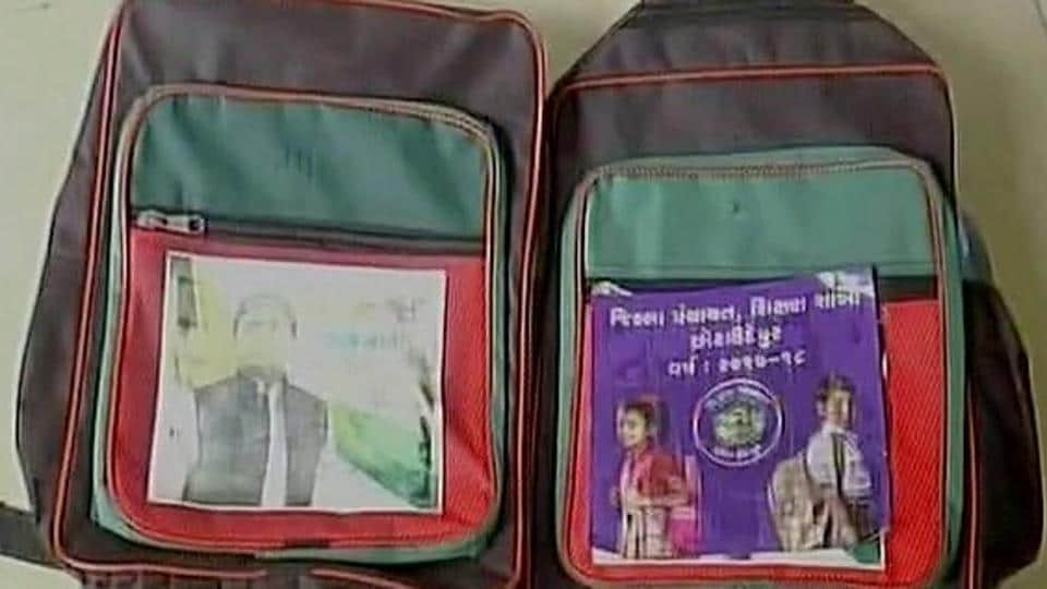 Akhilesh asks how bags with his picture were distributed in Gujarat schools