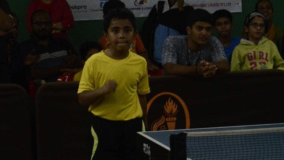 Neil Mulye,Table Tennis,Pune