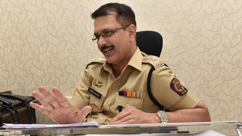 Ashok Morale, Deputy Commissioner of Police, Traffic,  Pune.